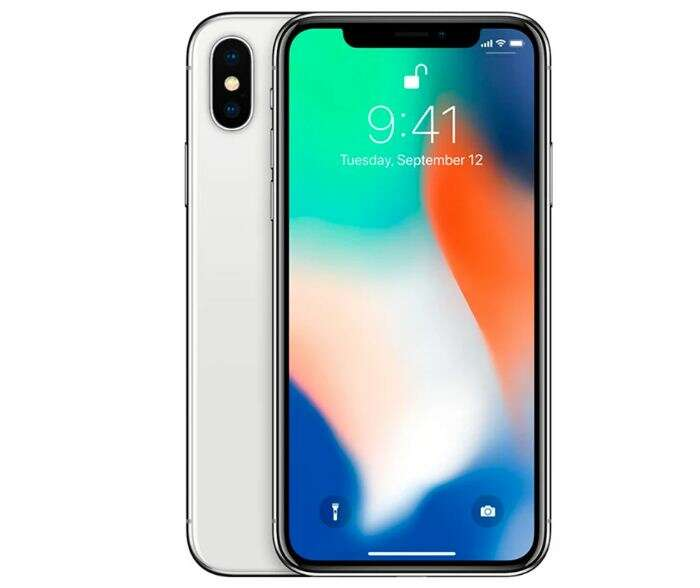 Смартфон Apple  iPhone X 256GB Silver (MQAG2RM/A)