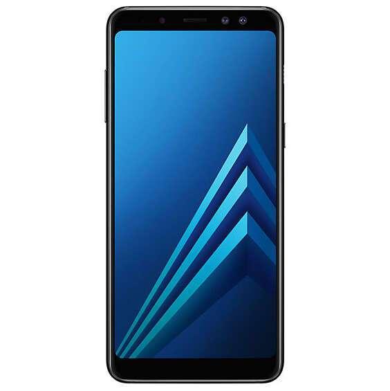 Смартфон Samsung Galaxy A8+ Black
