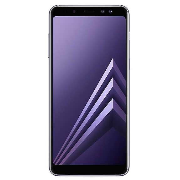 Смартфон Samsung Galaxy A8+ Gray