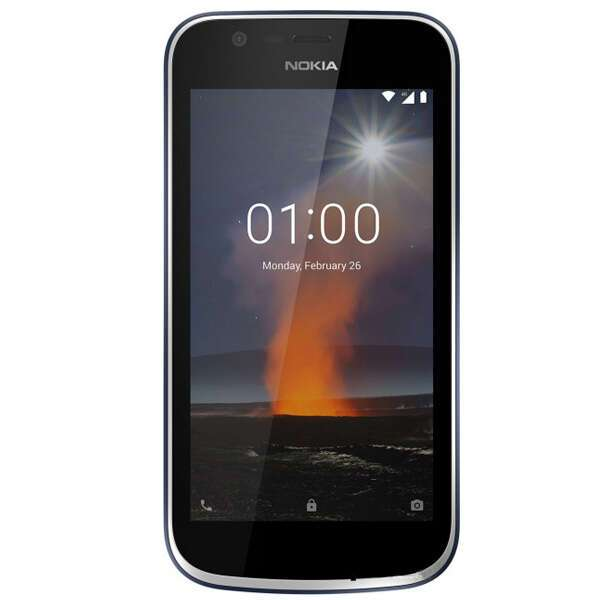 Смартфон Nokia 1 Dark Blue