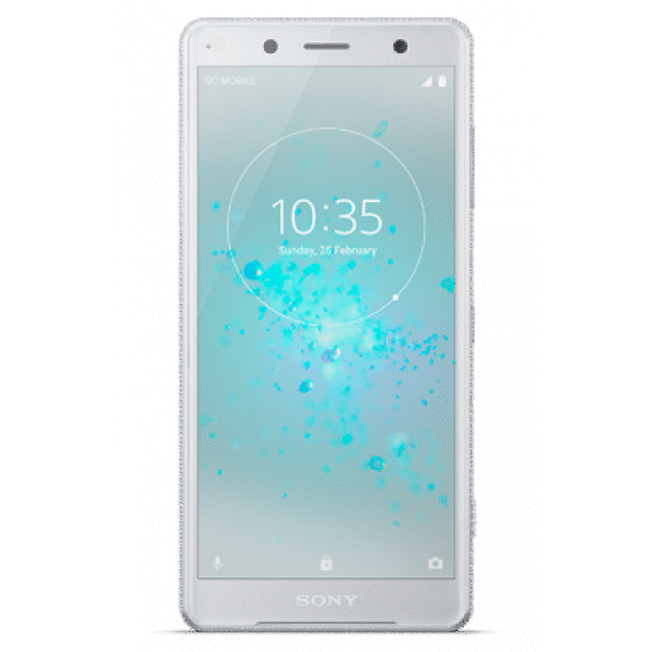 Смартфон Sony Xperia XZ2 Compact DS, Белое Серебро