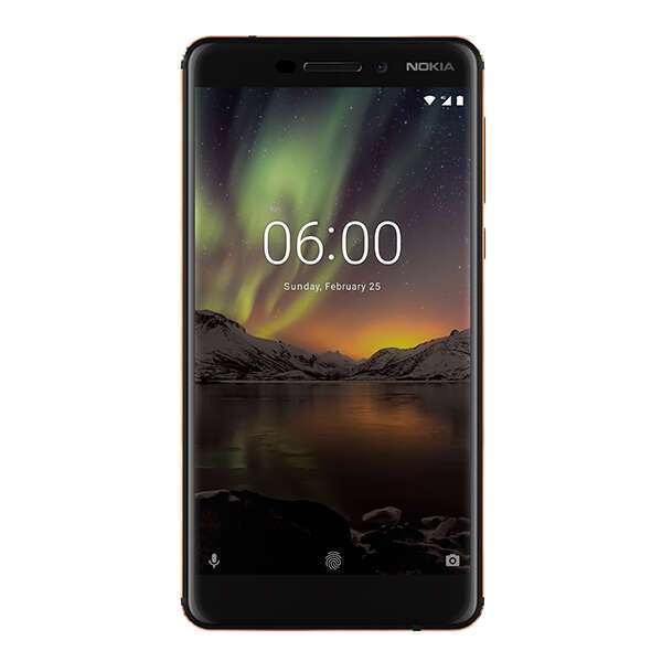 Смартфон Nokia 6.1 Черный/медь (11PL2B01A11)