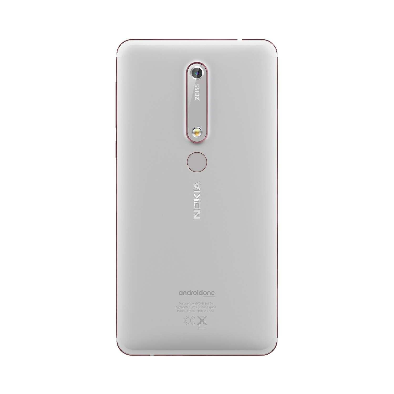 Смартфон Nokia 6.1 Белый/Железо (11PL2W01A02)