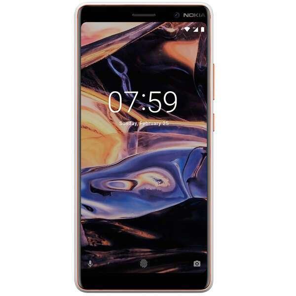 Смартфон Nokia 7 Plus (White/Cooper)