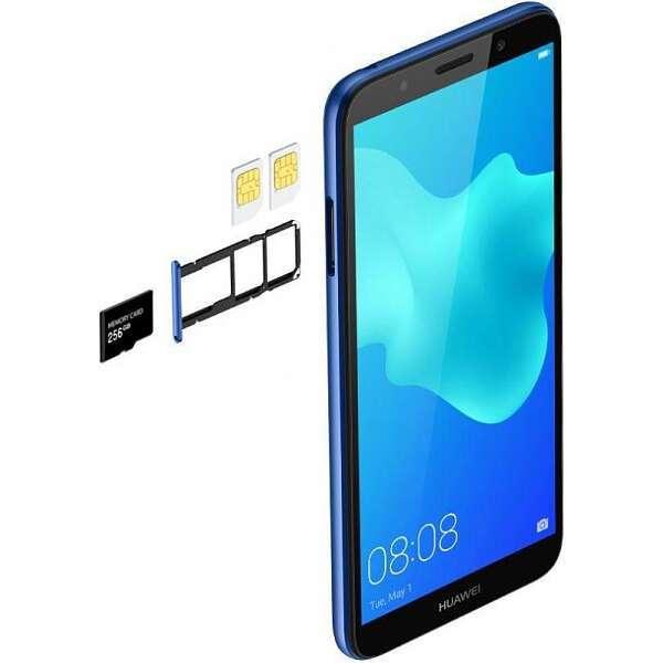 Смартфон Huawei Y5 Prime 2018 (Blue)