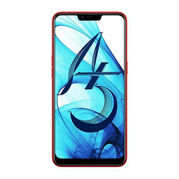 Смартфон OPPO A5 Red