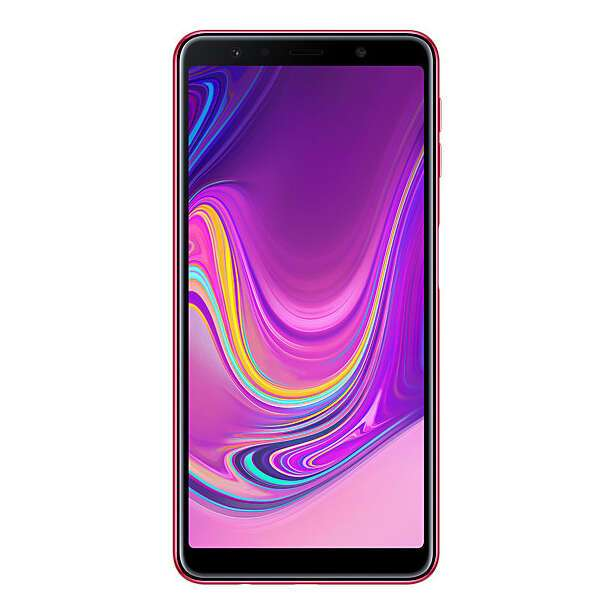 Смартфон Samsung Galaxy A7 (2018) (Pink)