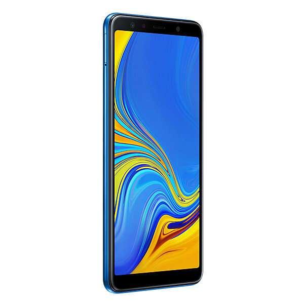 Смартфон Samsung Galaxy A7 (2018) (Blue)