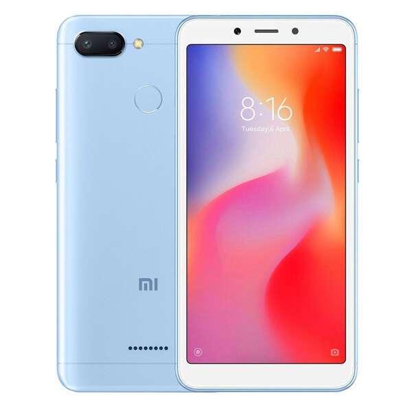 Смартфон Xiaomi Redmi 6 64G Blue