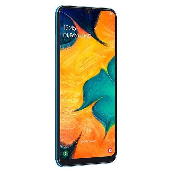 Смартфон Samsung Galaxy A30 32GB Blue