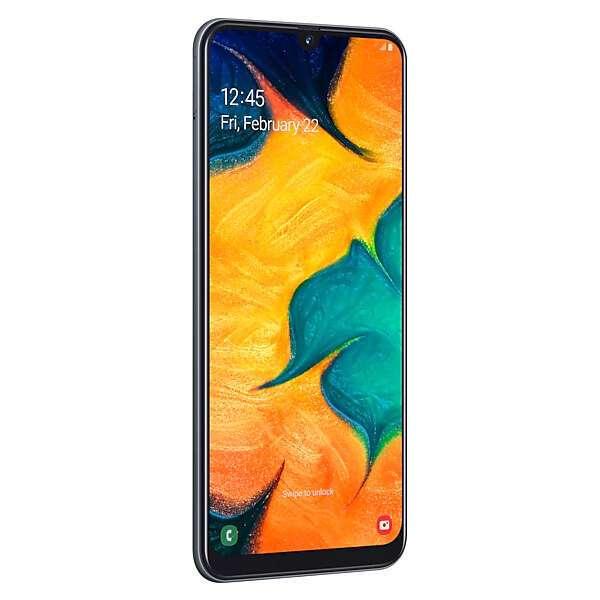 Смартфон Samsung Galaxy A30 Black (SM-A305FZKUSKZ)
