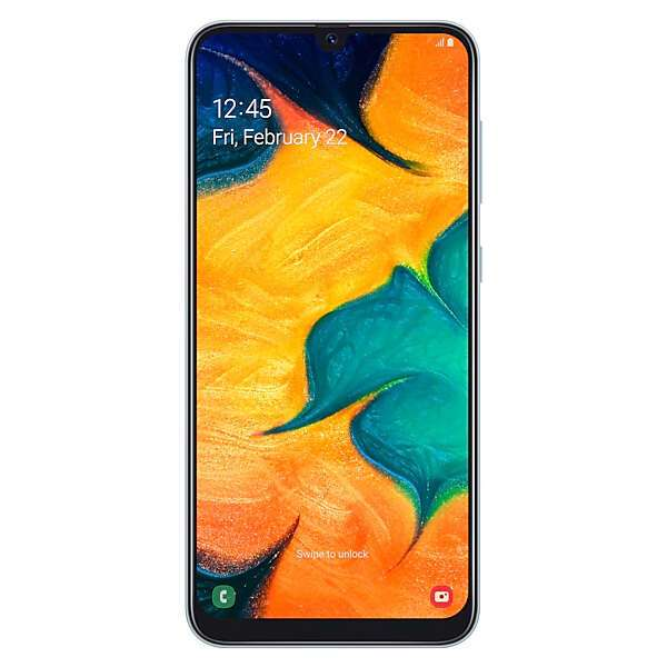 Смартфон Samsung Galaxy A30 32GB White