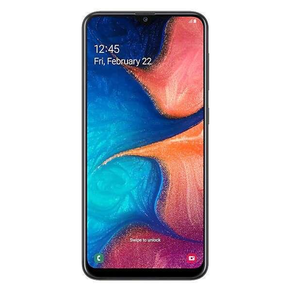 Смартфон Samsung Galaxy A20 Black (SM-A205FZRVSKZ)