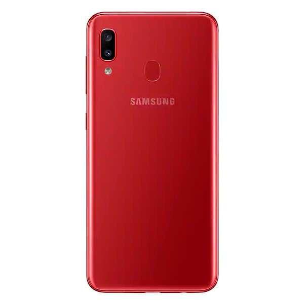 Смартфон Samsung Galaxy A20 Red (SM-A205FZRVSKZ)