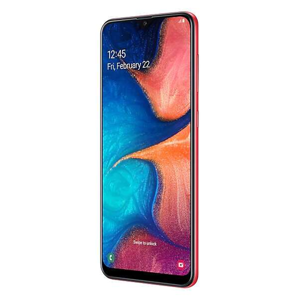 Смартфон Samsung Galaxy A20 SM-A205FZRVSKZ (Red)