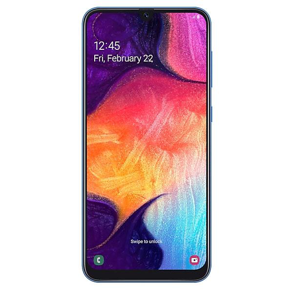 Смартфон Samsung Galaxy A50 128GB Blue SM-A505FZBQSKZ