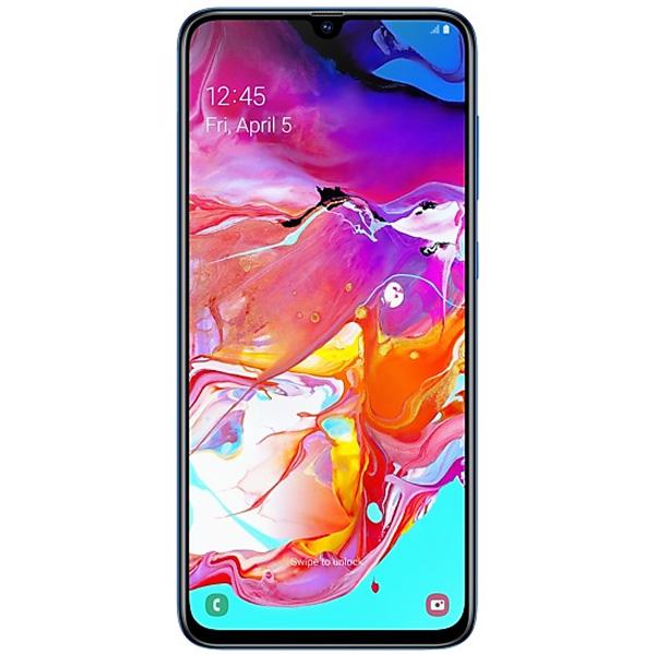 Смартфон Samsung Galaxy A70 128GB Blue