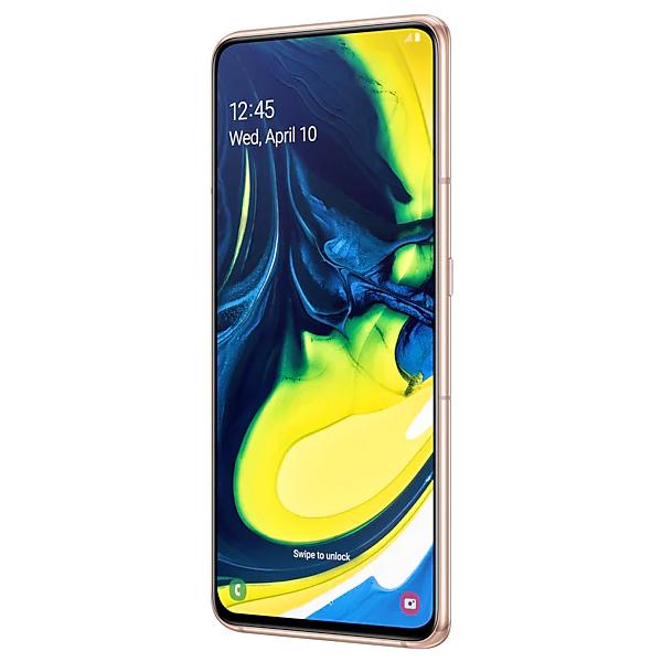 Смартфон Samsung Galaxy A80 128GB Angel Gold
