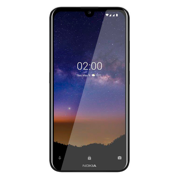 Смартфон Nokia 2.2 16GB Black