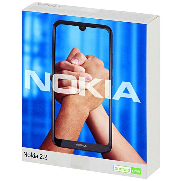 Смартфон Nokia  2.2 DS Black (TA-1188 EAC UA)