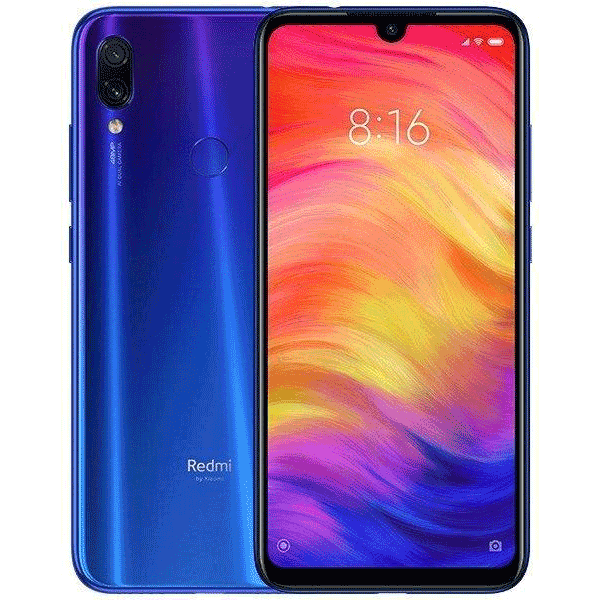 Смартфон Xiaomi Redmi Note 7 128GB Neptune Blue