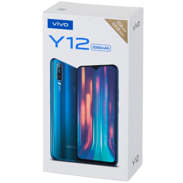 Смартфон Vivo Y12 Aqua blue