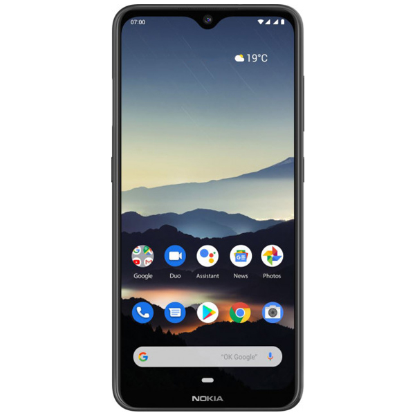 Смартфон Nokia 7.2 TA-1196 64GB (DS) Charcoal