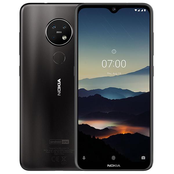 Смартфон Nokia 7.2 64GB Charcoal