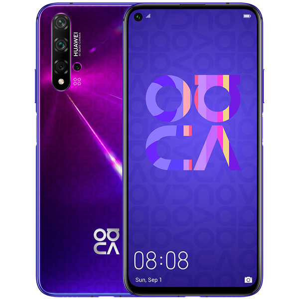 Смартфон Huawei Nova 5T Midsummer purple