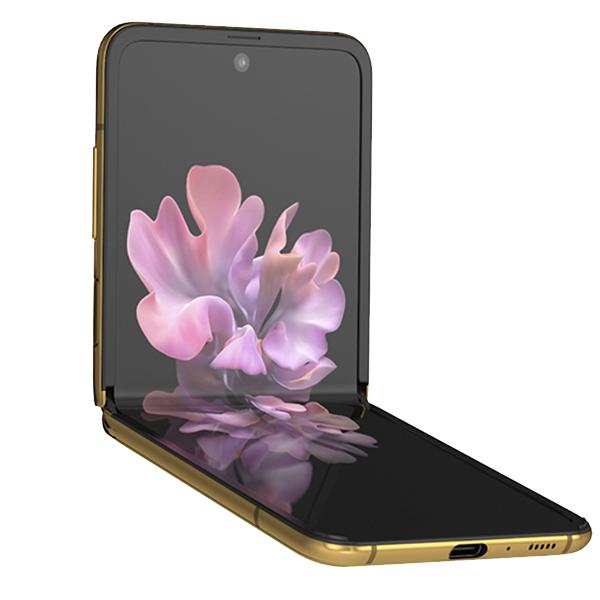 Смартфон Samsung Galaxy Z Flip Mirror Gold