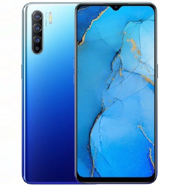 Смартфон ОРРО Reno3 128GB Auroral Blue