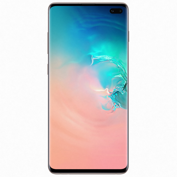 Смартфон Samsung Galaxy S10+ 8/128GB Ceramic White