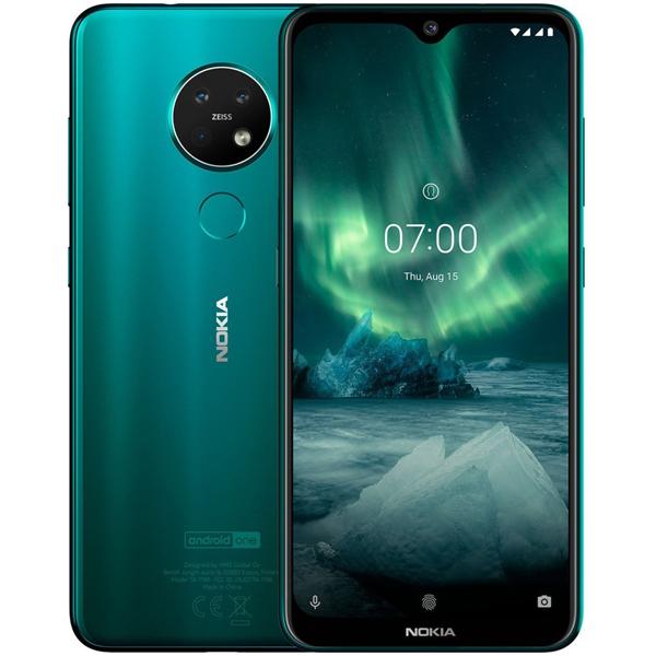 Смартфон Nokia 7.2  4/64GB Eacua Green TA-1196 DS