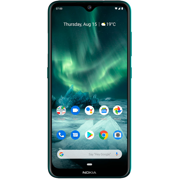 Смартфон Nokia 7.2 6/128GB Eacua Green (TA-1196 DS)