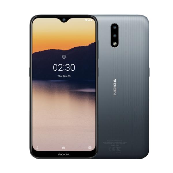 Смартфон Nokia 2.3 TA-1206 DS 2/32 EAC UA Charcoal