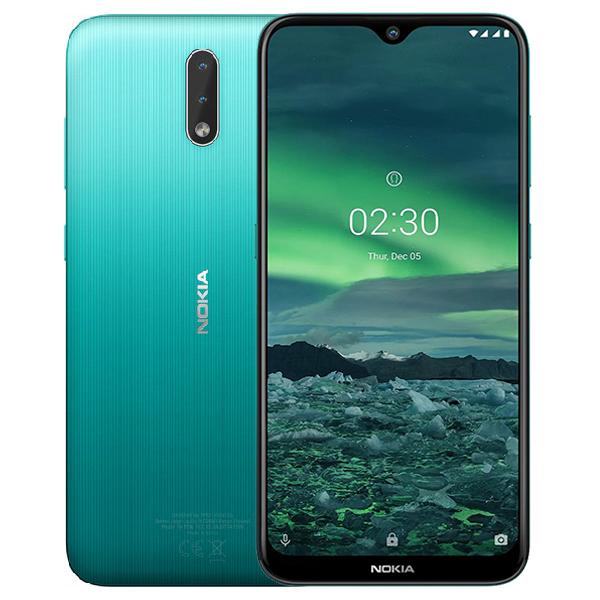 Смартфон Nokia 2.3 TA-1206 DS 2/32 EAC UA Cyan Green