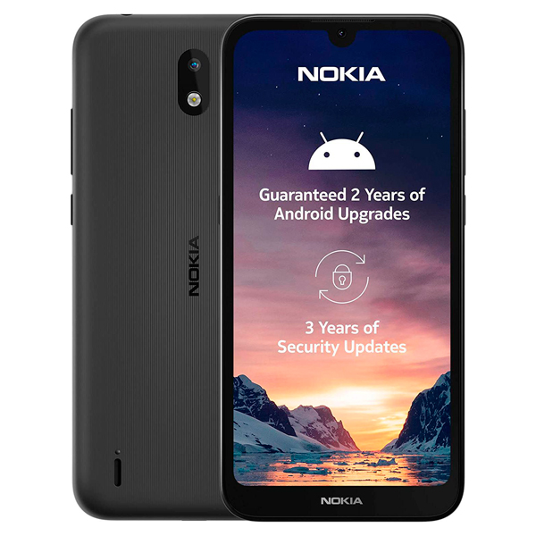 Смартфон Nokia 1.3 1/16GB Charcoal (TA-1205 DS) cis ua