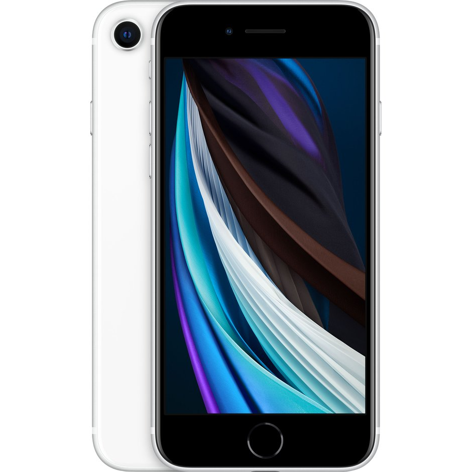 Смартфон Apple iPhone SE 64GB 2020 White Slim Box