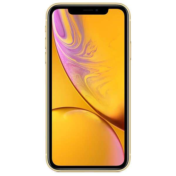 Смартфон Apple iPhone XR 128GB Yellow Slim Box