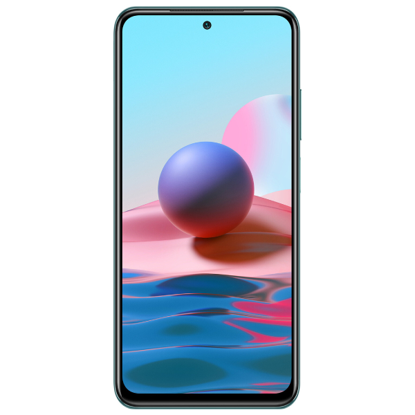 Смартфон Xiaomi Redmi Note 10 4/64GB Lake Green