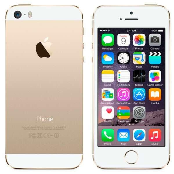 Смартфон Apple iPhone 5S 16 Gb CPO refurbished (Gold)