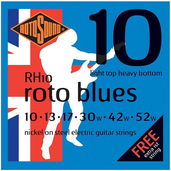 Струны для электрогитары Rotosound RH10