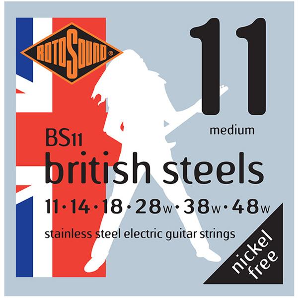 Струны для электрогитары Rotosound BS11