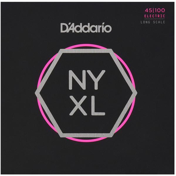 Струны для бас гитары D'Addario NYXL45100
