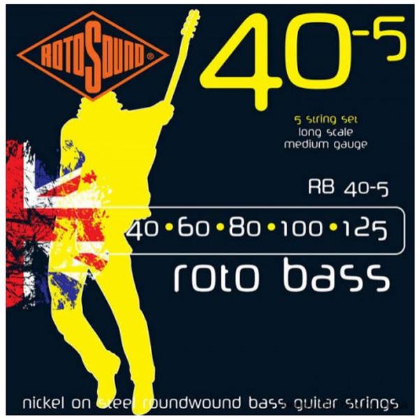 Струны для бас гитары Rotosound RB40.5