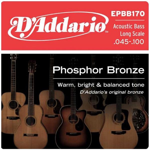 Струны для бас гитары D'Addario EPBB170