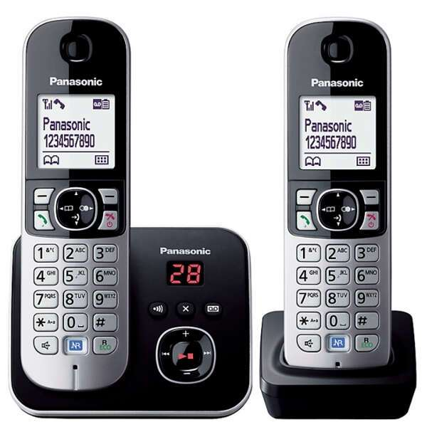 Радиотелефон Panasonic KX-TG 6822 CAB (RUM)
