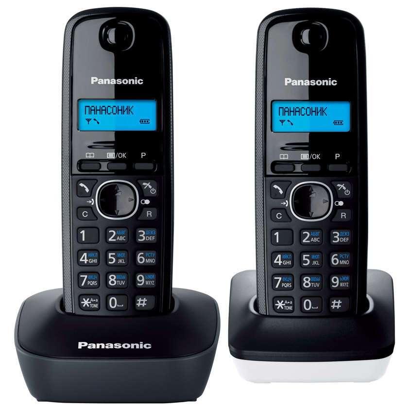 Телефон Panasonic KX-TG1612CAH