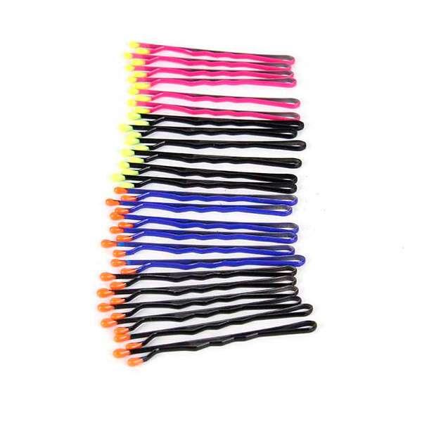 Заколки Kari A19792 разноцветные