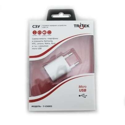 Micro USB Tritek T-CH002 СЗУ USB 1А